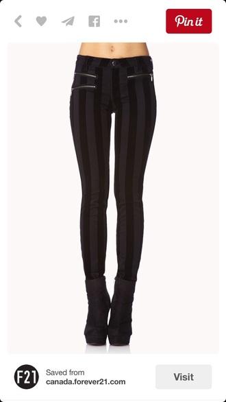 jeans pants skinny jeans skinny pants black jeans style stripes vertical stripes vertical stripe