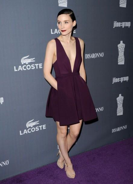 Low Cut Celebrity Dresses