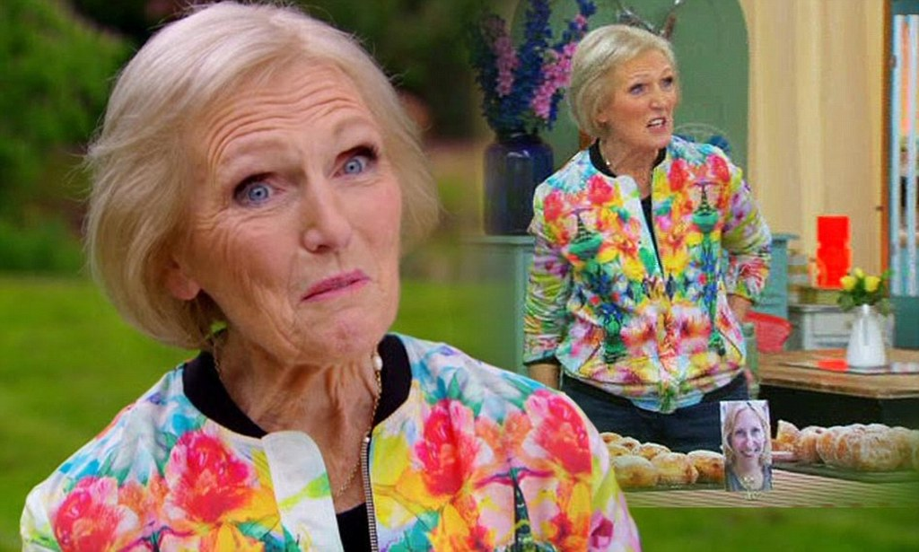 Zara sells out of floral bomber jacket after mary berry wears it on great british bake off