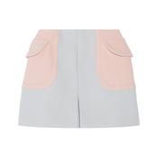 skirt,wool,miu miu,spring outfits,shorts,mini skirt