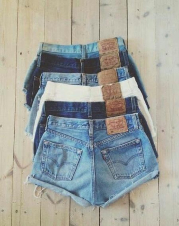 blue sky blue shorts blue shorts denim high waisted denim shorts