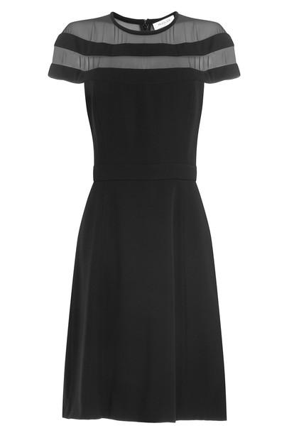 dress sheer black