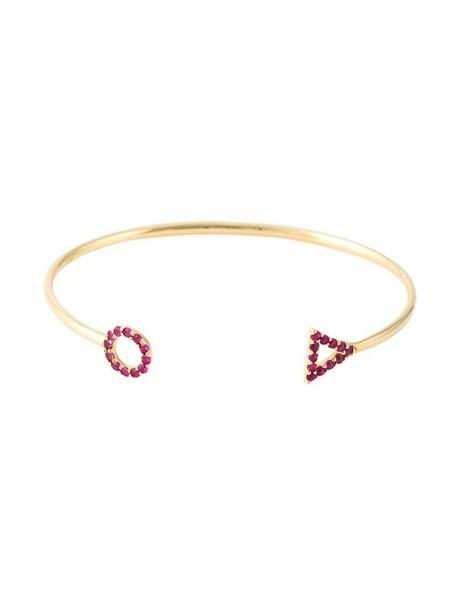 Gisele For Eshvi women gold red jewels