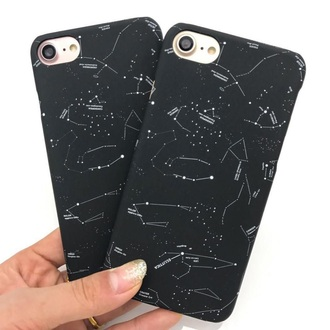 phone cover girly black galaxy print iphone cover iphone case iphone