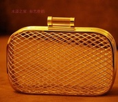 bag,aliexpress,bird cage,clutch,gold