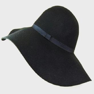 hat black sun hat