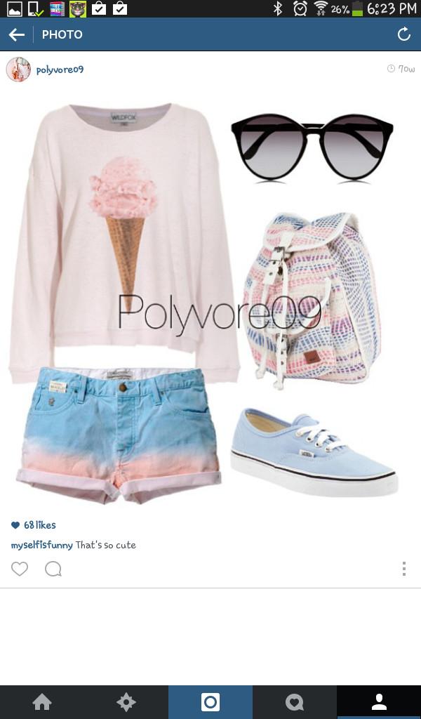 t-shirt bag sunglasses