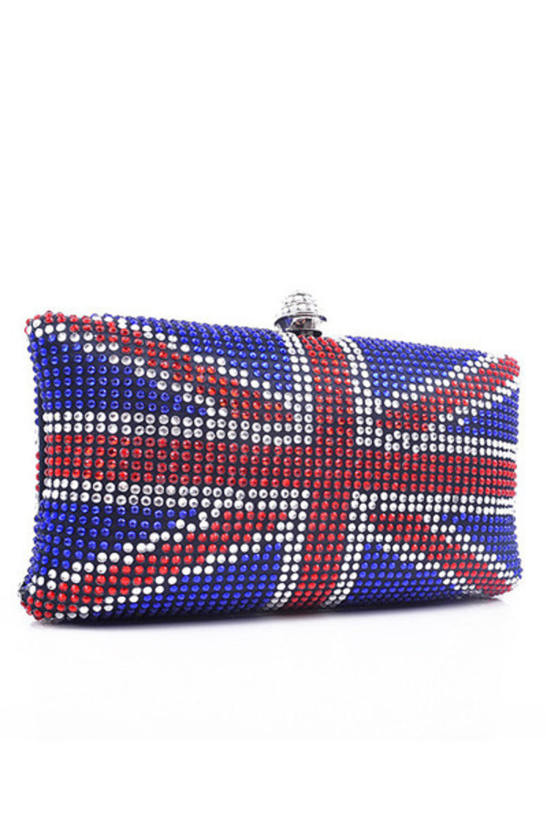 bag rhinestones evening bag