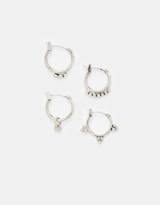 jewels earrings piercing hoop pandora boho bohemian hippie silver