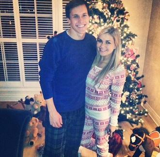 pajamas christmas boyfriend