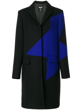 coat women black wool