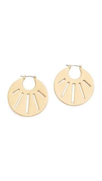 vintage rose earrings gold jewels