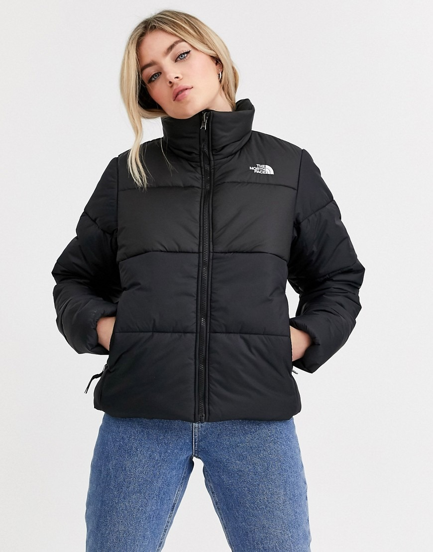 The North Face Saikuru puffer jacket in black