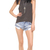 One Teaspoon Hendrix Bandit Shorts | SHOPBOP