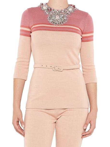 Miu Miu sweater pink