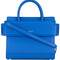 Givenchy - mini horizon tote bag - women - leather - one size, blue, leather