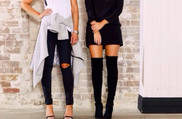 Over The Knee Boots - Shop for Over The Knee Boots on Wheretoget