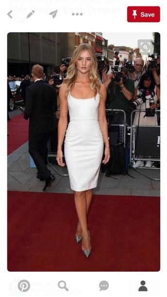 White Red Carpet Dresses
