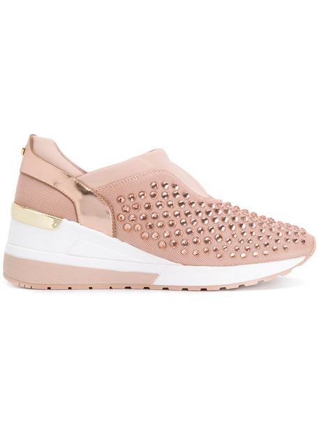 Michael Kors women sneakers cotton purple pink shoes