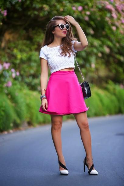 nany's klozet skirt shoes bag sunglasses t-shirt jewels