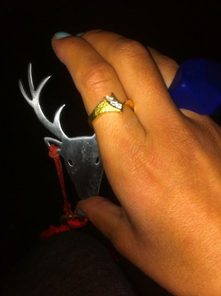 deer jewels ring