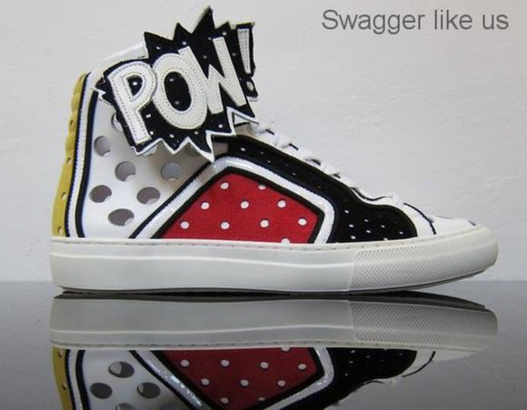 hip-hop swag shoes sneakers comics