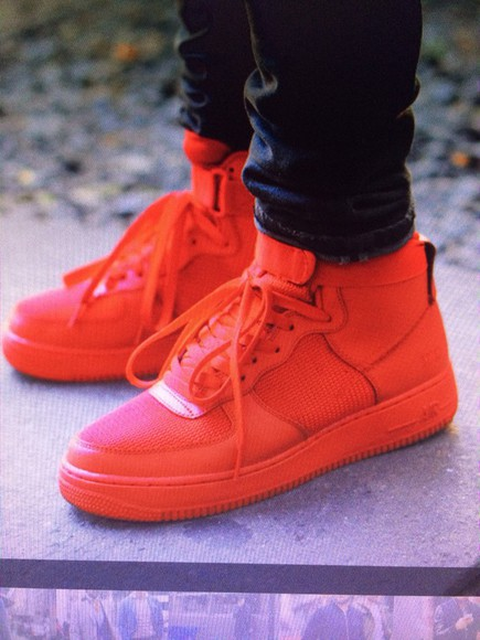 high top sneakers sneakers nike sneakers air force ones air force 1 red red sneakers nike running shoes mash mens shoes