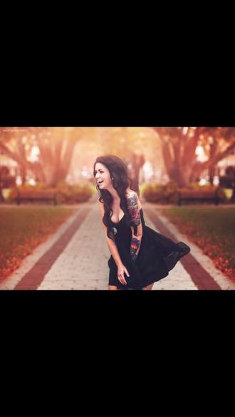 dress fun black short dress summer outfits summer dress cute