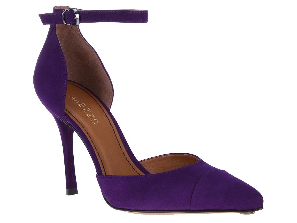 Purple Strap Heels