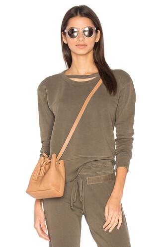 sweatshirt brown sweater