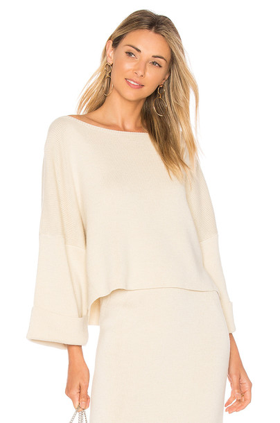 Mara Hoffman sweater cream