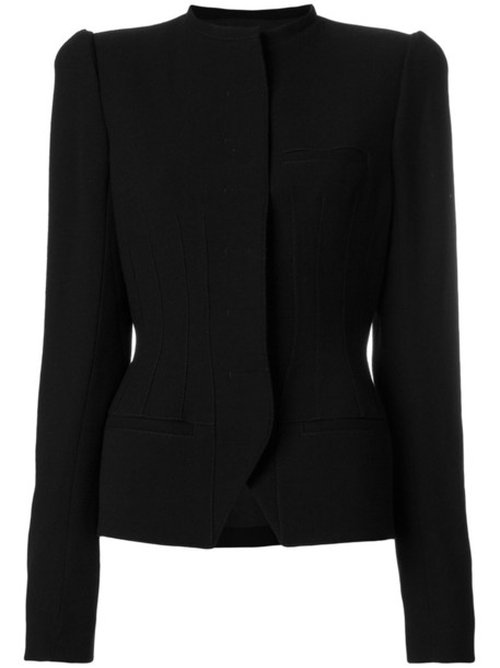 Haider Ackermann blazer women classic cotton black wool jacket