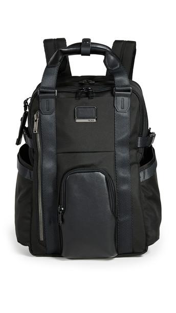 Tumi Alpha Bravo Kings Backpack Tote in black