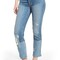 7 for all mankind® edie high waist crop straight leg jeans (laser denim with patches)   nordstrom