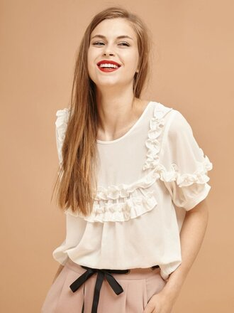 top white blouse blouse
