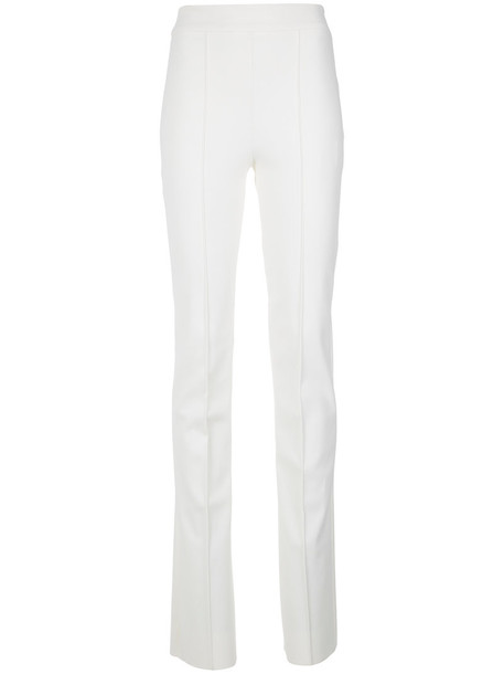 Gloria Coelho high women spandex white pants