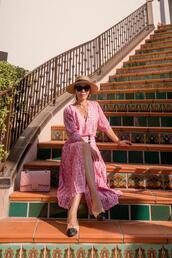 hallie daily,blogger,dress,shoes,bag,hat,sunglasses,jewels