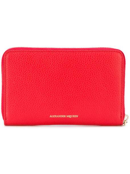 Alexander McQueen - skull purse - women - Leather - One Size, Red, Leather