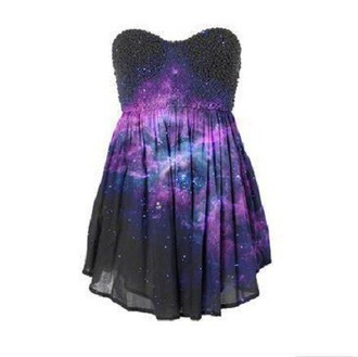 dress black black dress galaxy dress galaxy glitter dress glitter