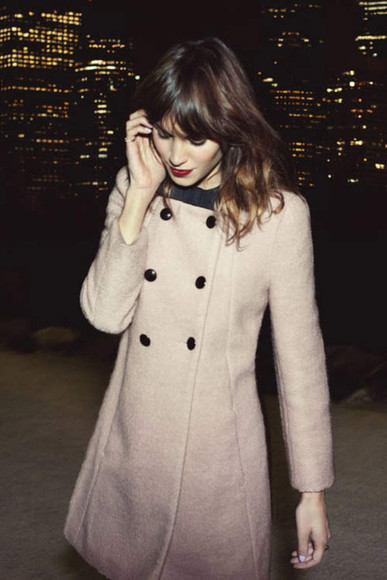 coat alexa chung celebrities celebrity style