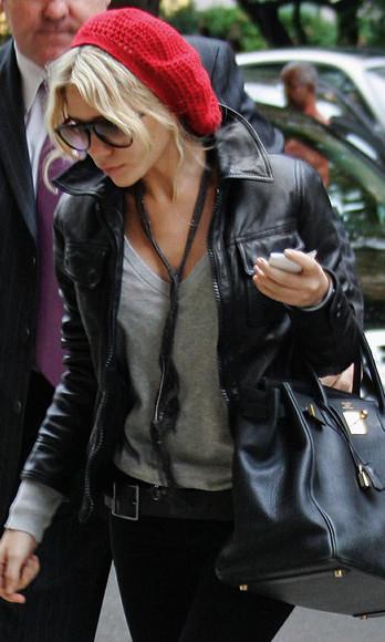 jacket olsen sisters blogger top jeans bag