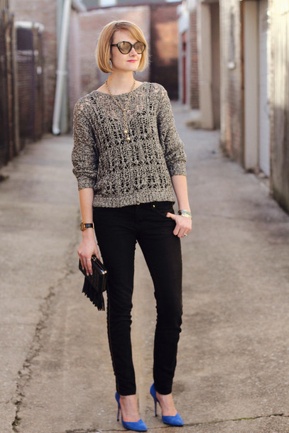 district of chic sunglasses jewels sweater jeans shoes bag