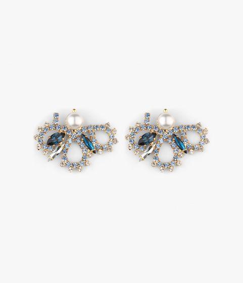 Floral Loop Earrings