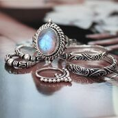 jewels,shop dixi,gypsy,boho,bohemian,hippie,grunge,jewelry,jewelery,sterling silver,silver,moonstone ring,moonstone rings,knuckle ring,midirings,silver midi rings,above the knuckle ring,above knuckle ring,gemstone,stone rings,stone ring,blue stone ring,dainty rings,dainty ring,gypsy jewelry,gypsy jewels,gypsy rings