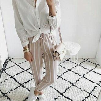 pants pink pink pants pastel pastel pink pastel pants stripes striped pants summer summer outfits summer outifts