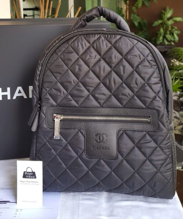 bedb17964c2b Chanel Cocoon Quilted Nylon 2015 Fall Collection Backpack