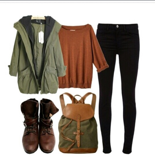 jacket green jacket green iso army green jacket army green jacket fall outfits bag