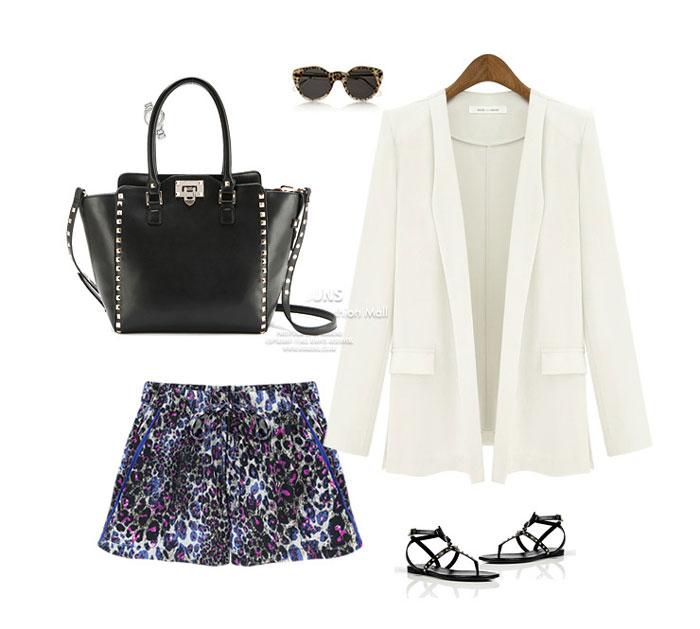 Stylish Rivet Details Handbag in Black [FPB833] - PersunMall.com