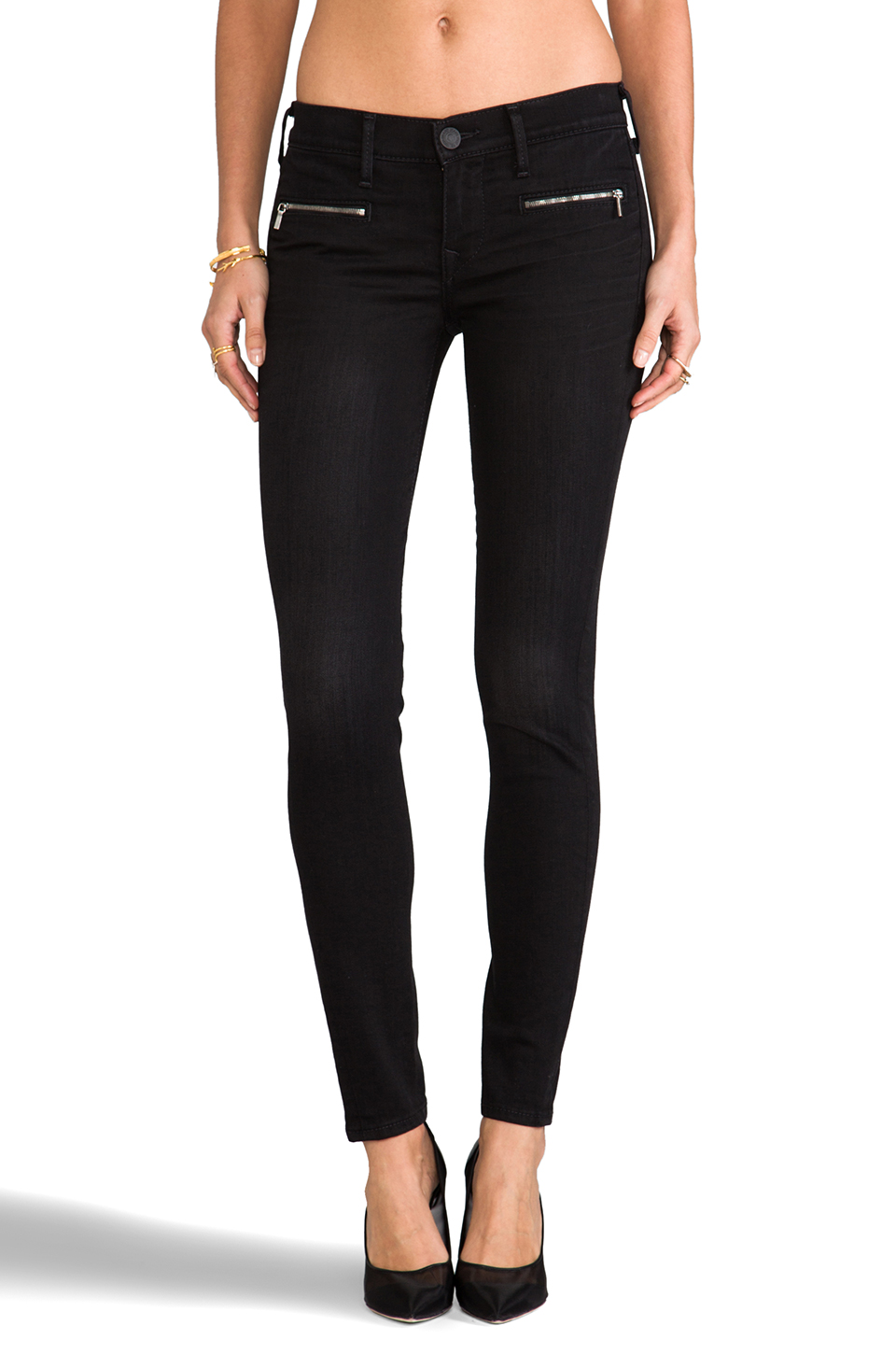 True Religion Edie Low Rise Skinny in Blackwell | REVOLVE