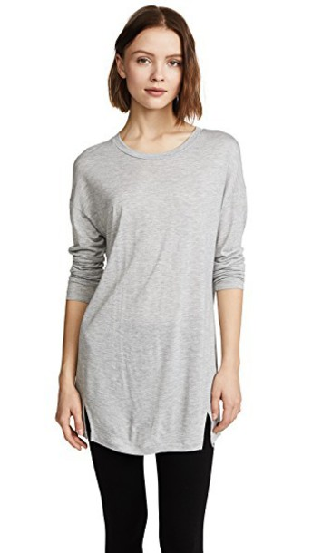 Vince dress long grey heather grey